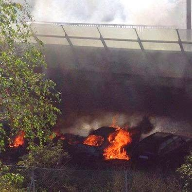 stockholm arson